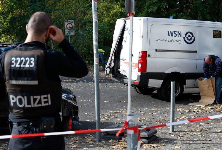 Nusikaltimas Vokietijoje (nuotr. SCANPIX)