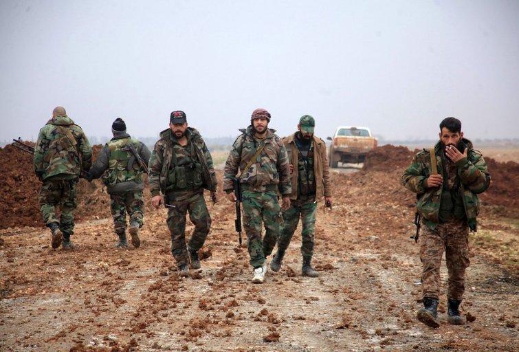 Sirijos režimo pajėgos atkovojo iš sukilėlių svarbų pietinį miestą (nuotr. SCANPIX)
