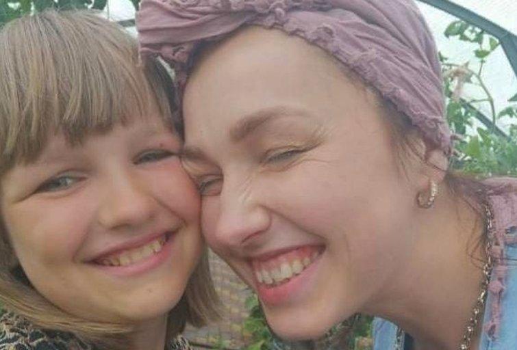 Auksė Griškoniene su dukra Rugile. (nuotr. asm. archyvo)