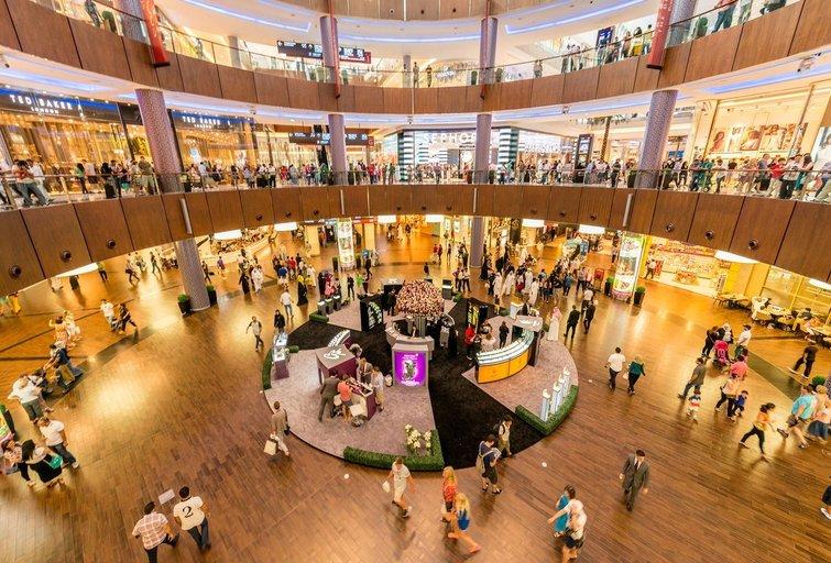 Prekybos centre (nuotr. 123rf.com)