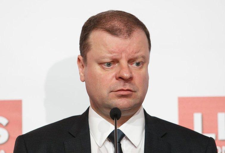 Saulius Skvernelis (nuotr. Tv3.lt/Ruslano Kondratjevo)