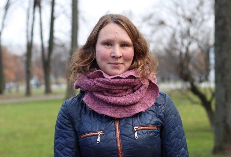 Aušra Garunkšnytė buvo viena iš sportininkių, nenutraukusių treniruočių ir per karantiną. LPOK archyvo nuotr.