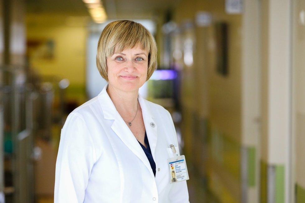 Gydytoja Jūratė Masalskienė (nuotr. Kauno klinikų)