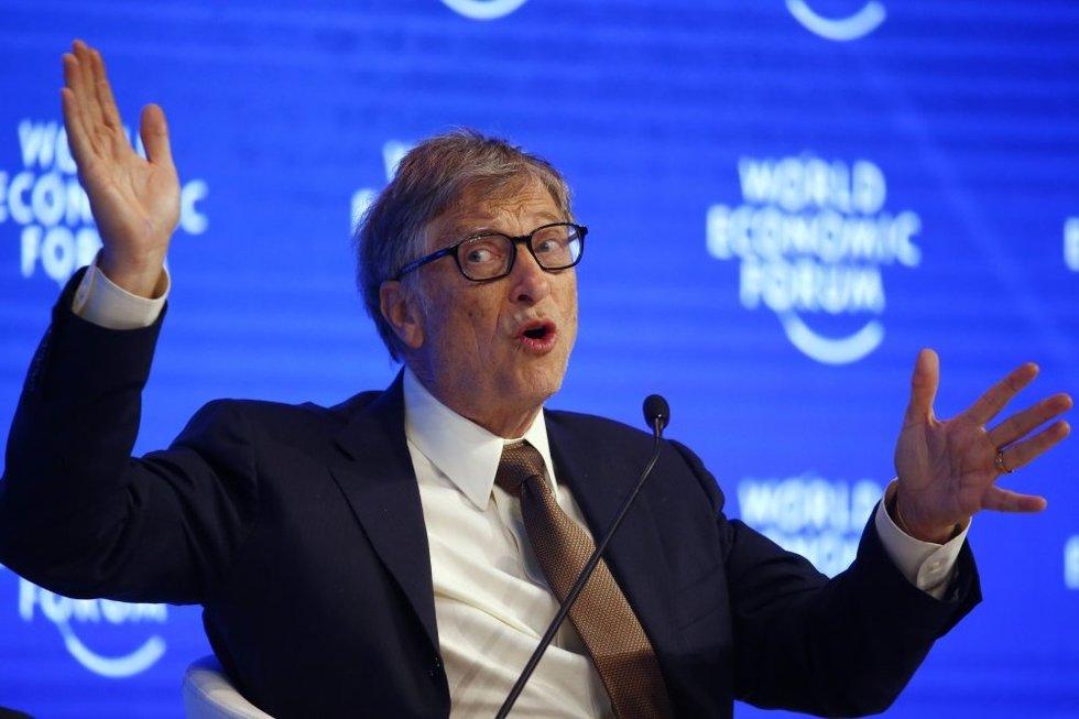 Billas Gatesas (nuotr. SCANPIX)