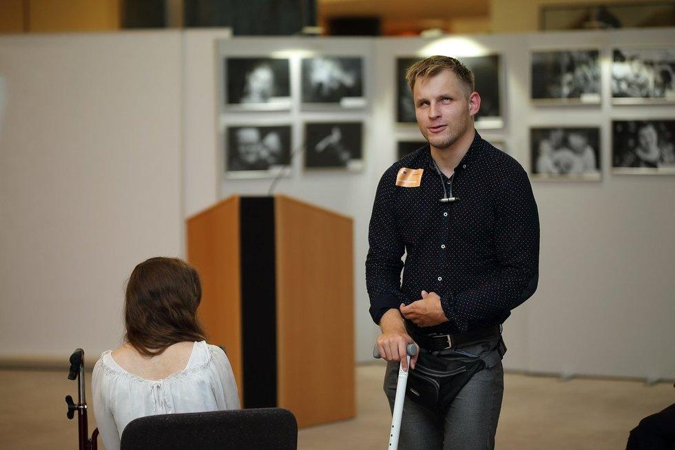 Kol nebuvo karantino, Martynas Vitkus važinėdavau į Klaipėdą iš Kauno. Asmeninio archyvo nuotr.