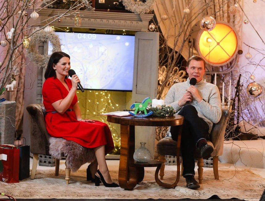 Tarp šešių renginio vedėjų bus ir Mindaugas Stasiulis su Renata Šakalyte-Jakovleva