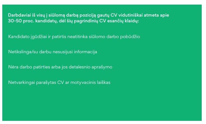Užimtumo tarnybos analizė