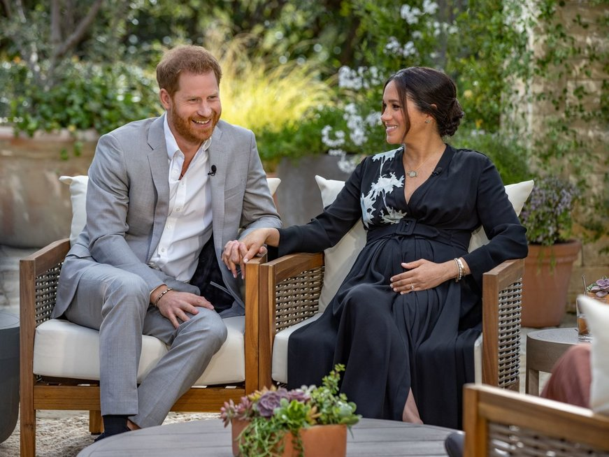Princo Harry ir Meghan Markle interviu su Oprah Winfrey