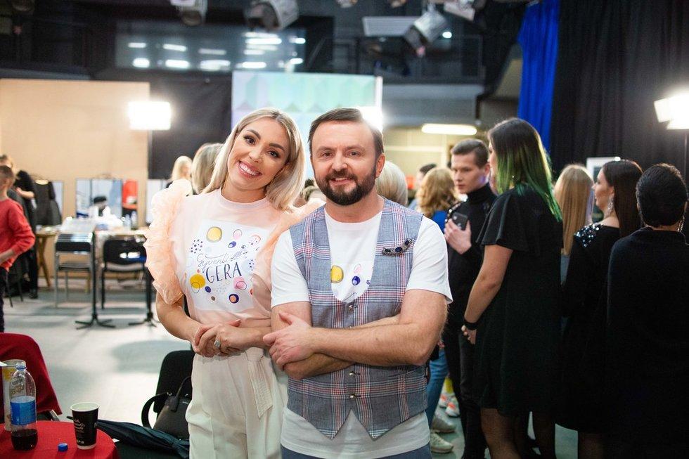 Liepa Norkevičienė ir Stanislavas Stavickis-Stano