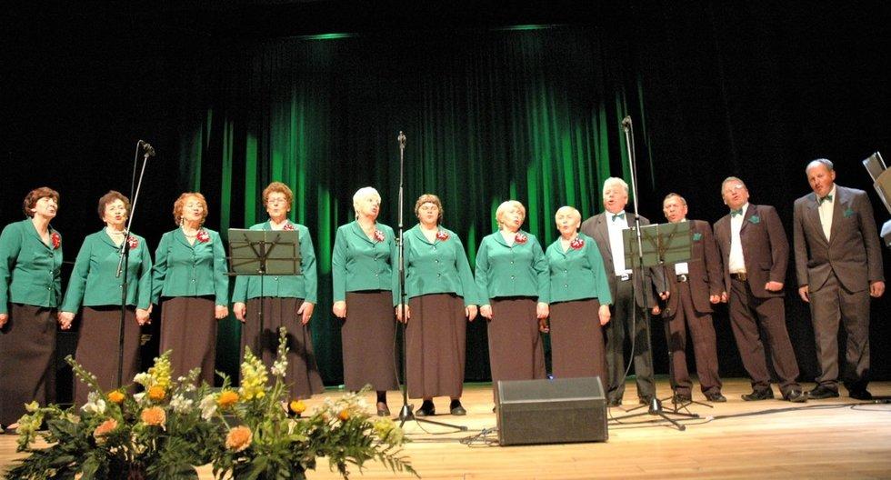 Tauragiškių ansamblis, kuriame dainuoja ir Vytautas, – 2018 metų LSPŽGB rengiamos dainų šventės nugalėtojas. Linos Jakubauskienės nuotr.