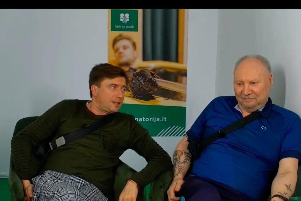 M. Jampolskis ir Fara (nuotr. YouTube)