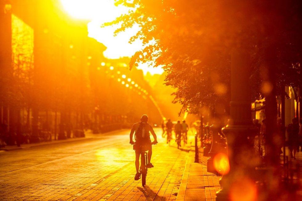Vasara (nuotr. Fotodiena/Justino Auškelio)