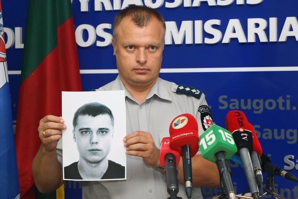 Policija ieško besislapstančio O. Pikul-Jasaitienės brolio Jono Barono nuotr. Broniaus Jablonsko
