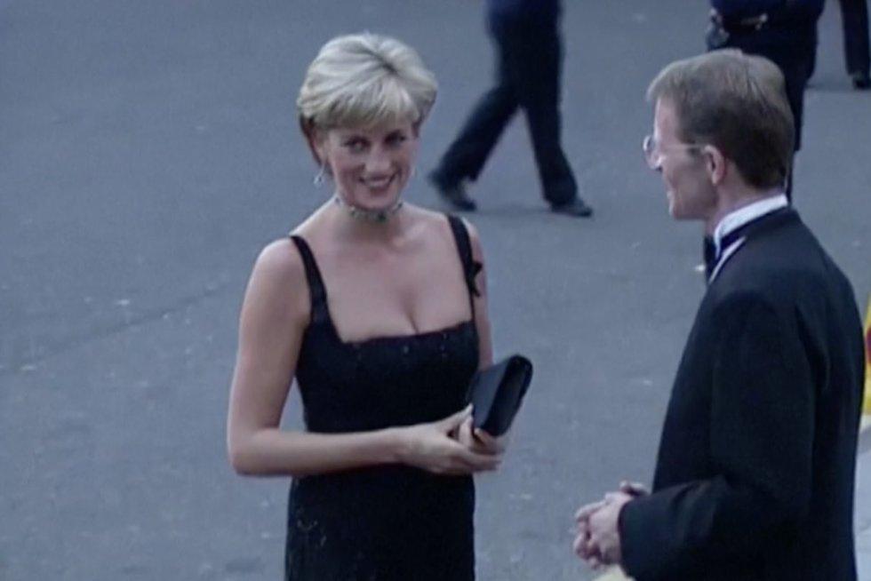 Princesės Dianos brolis: duotą interviu BBC sieju su jos mirtimi (nuotr. stop kadras)