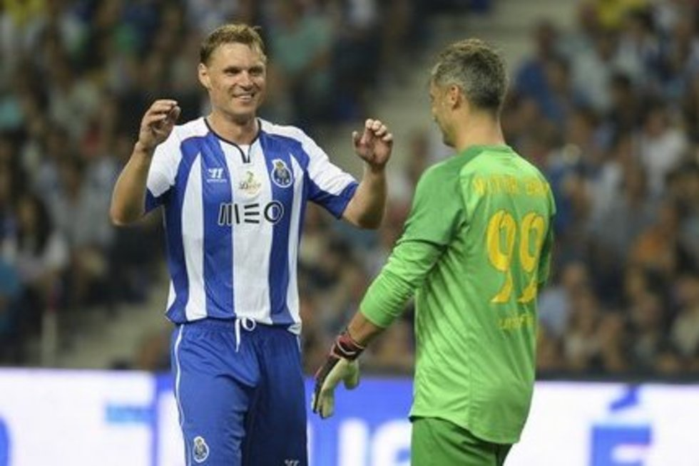 "E. Jankauskas FC ""Porto"" klube (nuotr. SCANPIX)"