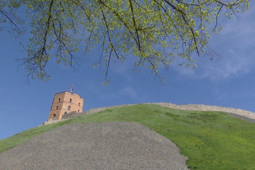 Gedimino kalnas (nuotr. stop kadras)