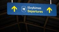 Oro uostuose padaugėjo keleivių (nuotr. Fotodiena/Justino Auškelio)