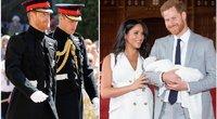 Princas Harry, princas Williamas, Meghan Markle, princas Harry ir jų sūnus Archie (tv3.lt fotomontažas)