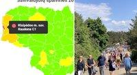"""Neramios žinios dėl COVID-19: viena savivaldybė Lietuvoje vėl pradeda """"raudonuoti"""""""