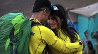 Irako Kurdistane alpinizmo entuziastų pora susituokė aukštai kalnuose (nuotr. SCANPIX)