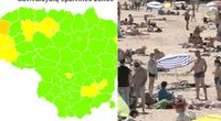 """Neramios žinios dėl COVID-19: Lietuva – per plauką nuo grįžimo į """"geltonąją zoną"""""""