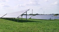 Saulės kolektoriai (nuotr. stop kadras)