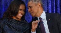 Michelle ir Barakas Obama (nuotr. SCANPIX)