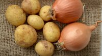 Bulvės ir svogūnai  (nuotr. Shutterstock.com)