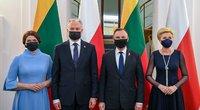 G. Nausėdos vizitas Lenkijoje (nuotr. Lietuvos Respublikos Prezidentūros)