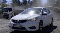 Autopilotas. Nissan Pulsar (nuotr. stop kadras)