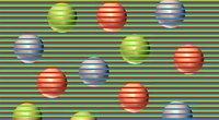 Optinės iliuzijos yra skirtos smegenų treniravimui (nuotr. Organizatorių)
