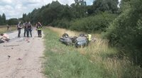 Tragedija Alytaus rajone:žuvo dvi mergytės (nuotr. TV3)