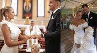 Eglės Straleckaitės ir Dominyko Domarko vestuvės  (tv3.lt fotomontažas)