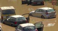 Dalį Europos siaubia potvyniai (nuotr. stop kadras)