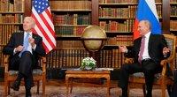 V. Putinas susitiko su J. Bidenu (nuotr. SCANPIX)