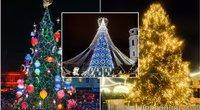 Kalėdinių eglių įžiebimas 2020 (tv3.lt fotomontažas)