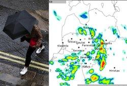 Įspėja dėl orų: numatomos smarkios audros