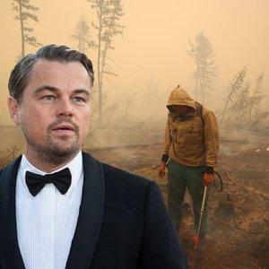 Rusai į pagalbą kviečia DiCaprio: dūsta juodu gaisrų oru