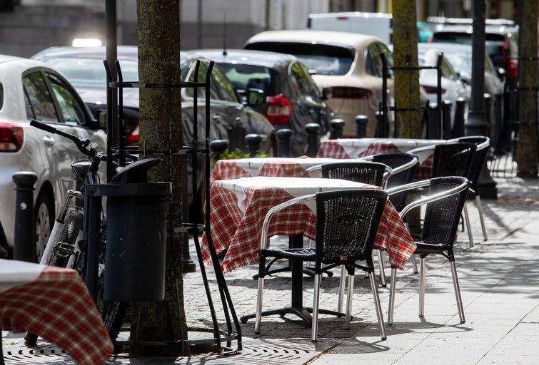 Paslaugų sektoriuje darbuotojai naudojasi išeitinėmis (Irmantas Gelūnas/Fotobankas)