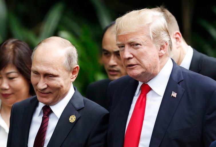 V. Putinas ir D. Trumpas (nuotr. SCANPIX)