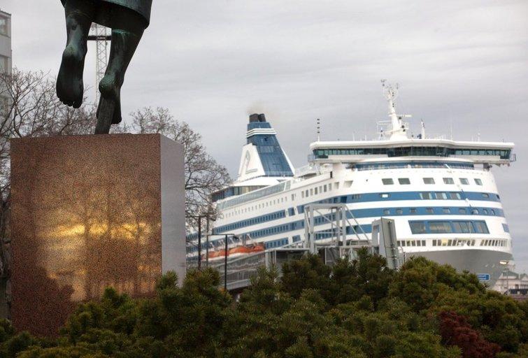 """Tallink"" keltai (nuotr. SCANPIX)"