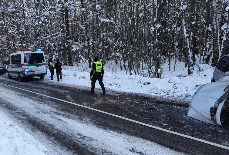 Avarija. Asociatyvi nuotrauka (nuotr. Bronius Jablonskas/TV3)
