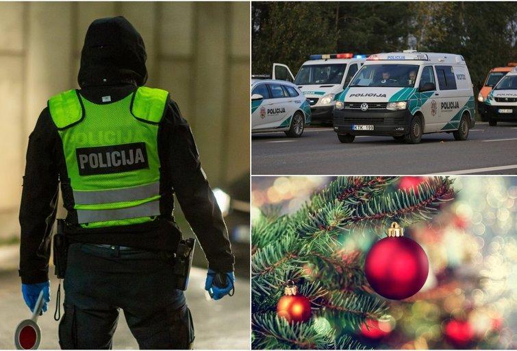 Pareigūnė papasakojo apie Kalėdas darbe: šventinę nuotaiką kuria mažomis smulkmenomis (tv3.lt fotomontažas)