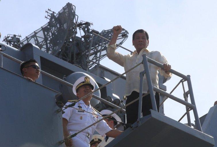 Filipinai skuba į Rusijos glėbį (nuotr. SCANPIX)