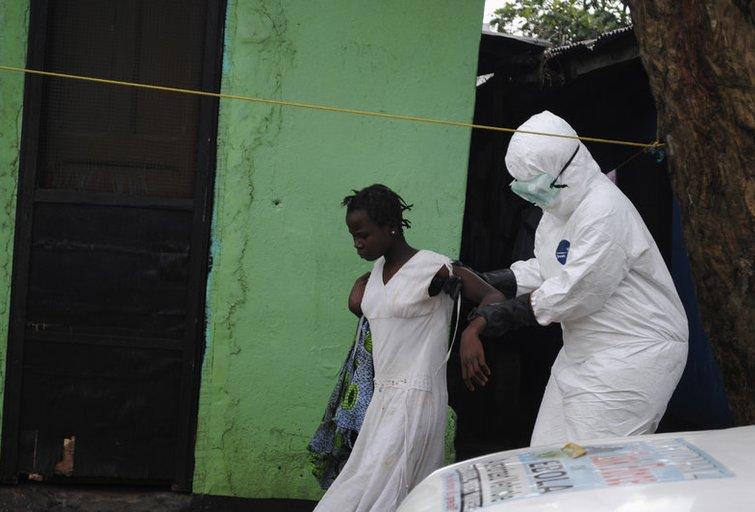 B. Obama: Ebolos viruso epidemija darosi nebekontroliuojama (nuotr. SCANPIX)