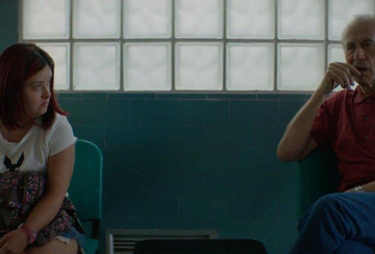 """Federico Bondi filmo """"Dafnė"""" kadras."""