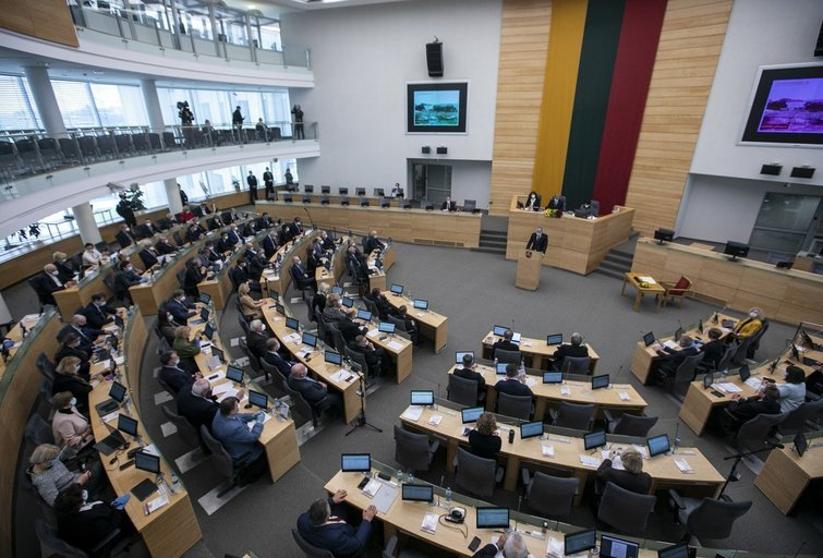Seimas (Paulius Peleckis/Fotobankas)
