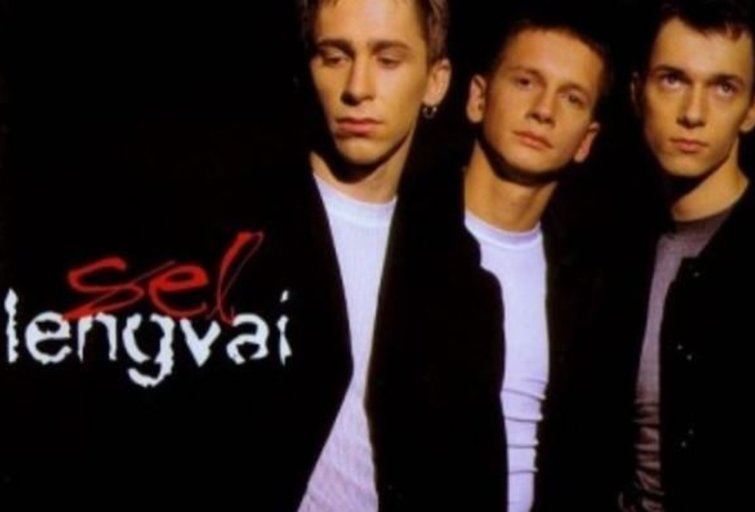 """SEL singlo viršelis (V. Michnevičius - viduryje) / """"Koja Records"""" nuotr."""