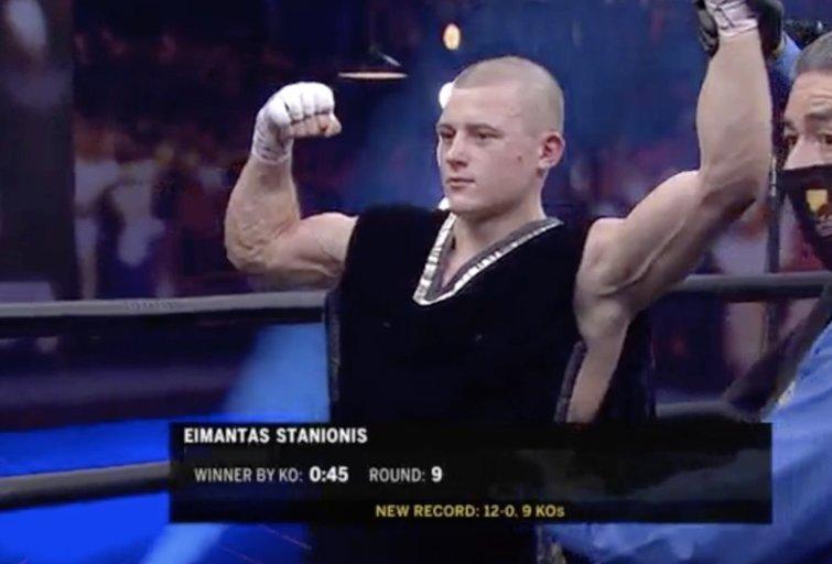 E. Stanionis (nuotr. stop kadras)
