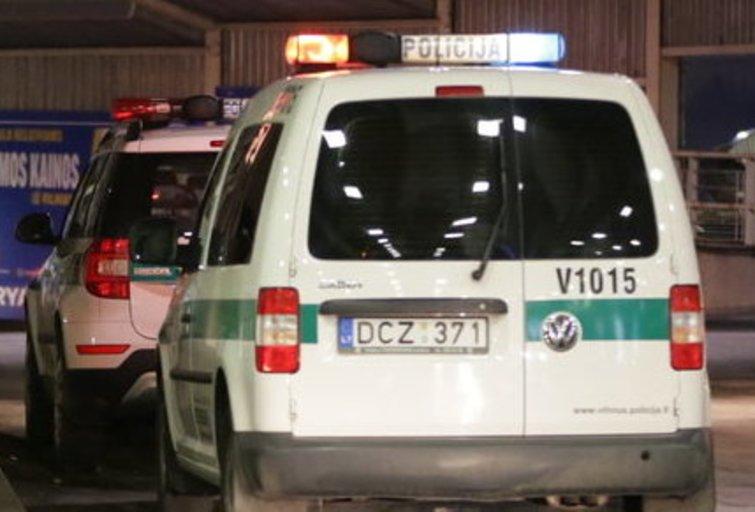 Po pranešimo apie sprogmenį evakuota Marijampolės autobusų stotis nuotr. Broniaus Jablonsko